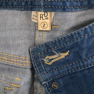 French Connection Jeans - High-waisted Bootcut denim jeans